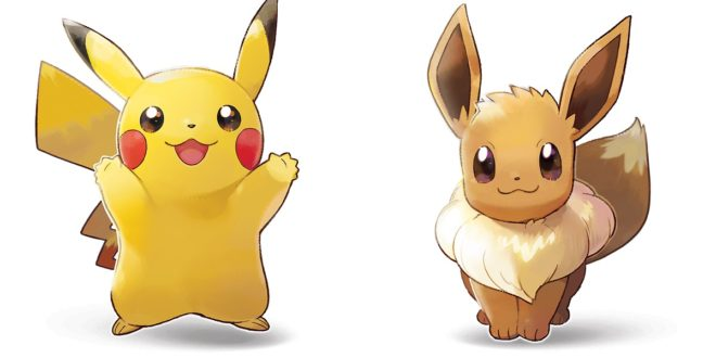 Pokémon-Let-Go-Pikachu-Evoli