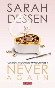 Never-again-lumen-roman-sarah-dessen-couverture
