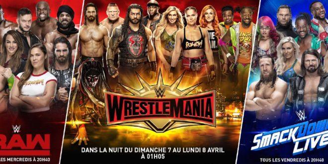 WWE – Wrestlemania, c'est (presque) déjà là !