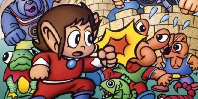 SEGA AGES Alex Kidd in Miracle World – Notre test retro sur Switch !