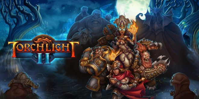Torchlight-II-Perfect-World-Entertainment-Runic-Games-Panic-Button-Logo