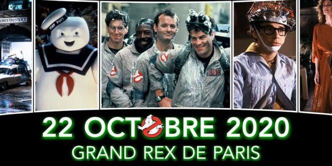 GHOSTBUSTERS en ciné-concert le 22 octobre au Grand Rex