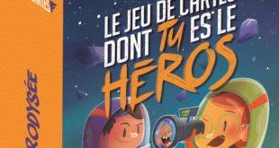 Héroï'cartes – Astrodyssée, le jeu dont Anya était l'héroine.