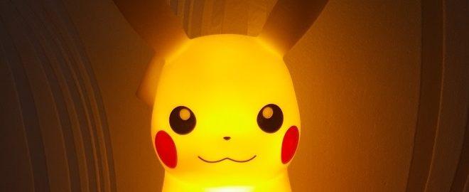 Gadgets – Lampe réveil Pikachu, notre test attaque électrique !