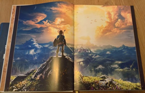 The-Legend-of-Zelda-Breath-of-the-Wild-Création-un-Prodige-Soleil-Manga-Photo01