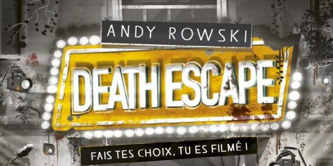 Livre interactif – Death Escape : Fais tes choix, tu es filmé !