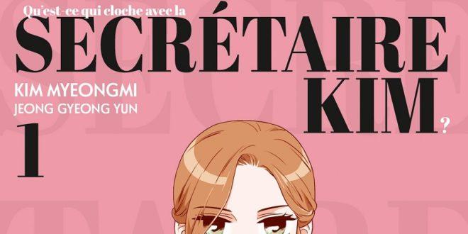 Webtoon – Secrétaire Kim T01 – Notre avis